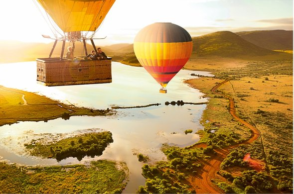 Hot Air Ballooning in South Africa.